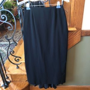 Joseph Ribkoff Formal Skirt Draped Train